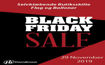 Kolonne Black Friday 400 x 250 pixels