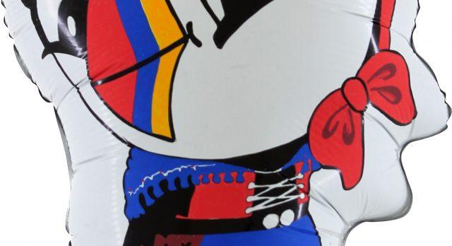 Folieballoner special design, Balloner med reklametryk