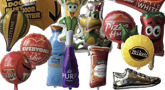 Folieballoner Special design, Reklameballoner