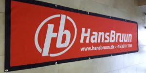 Bannere til indendørs og udendørs brug med reklametryk