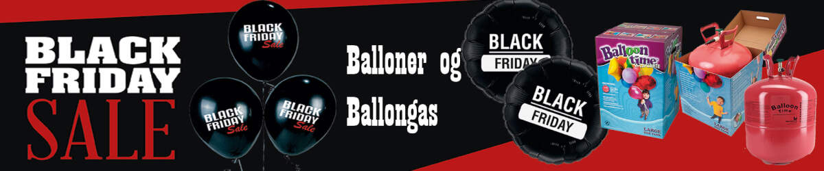 Black Friday Balloner og Helium