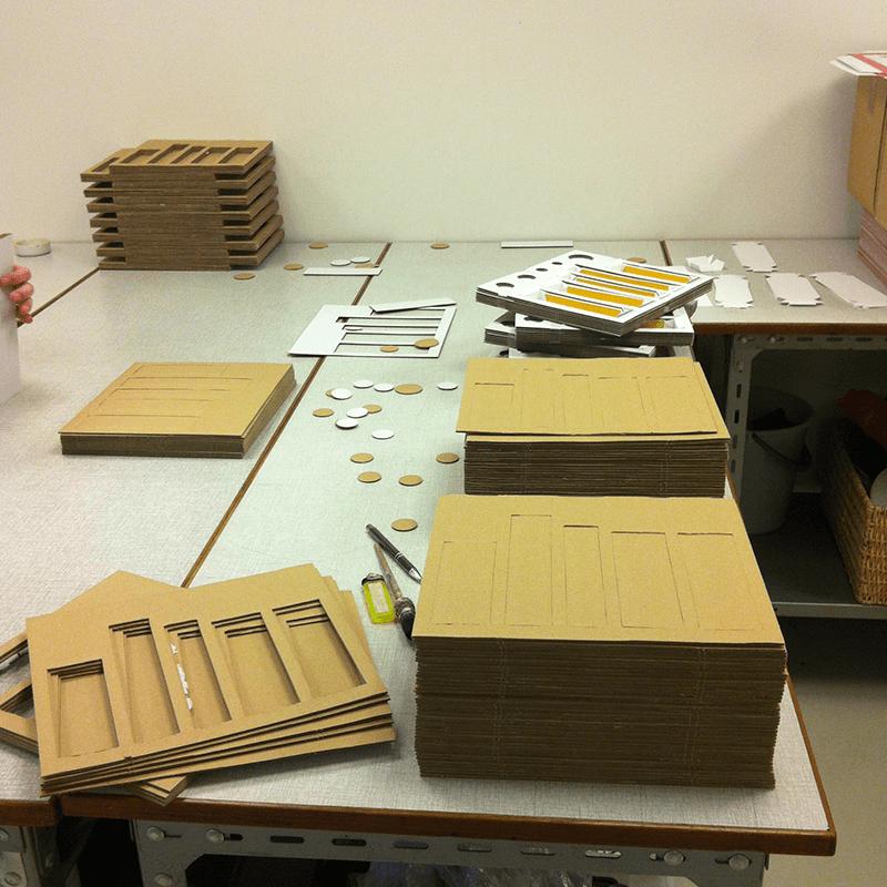 Samling af displays