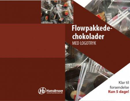 Flowpakkede chocolade forside